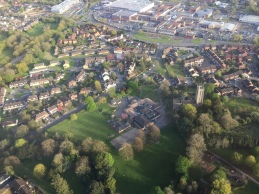 St Mary's School from the air